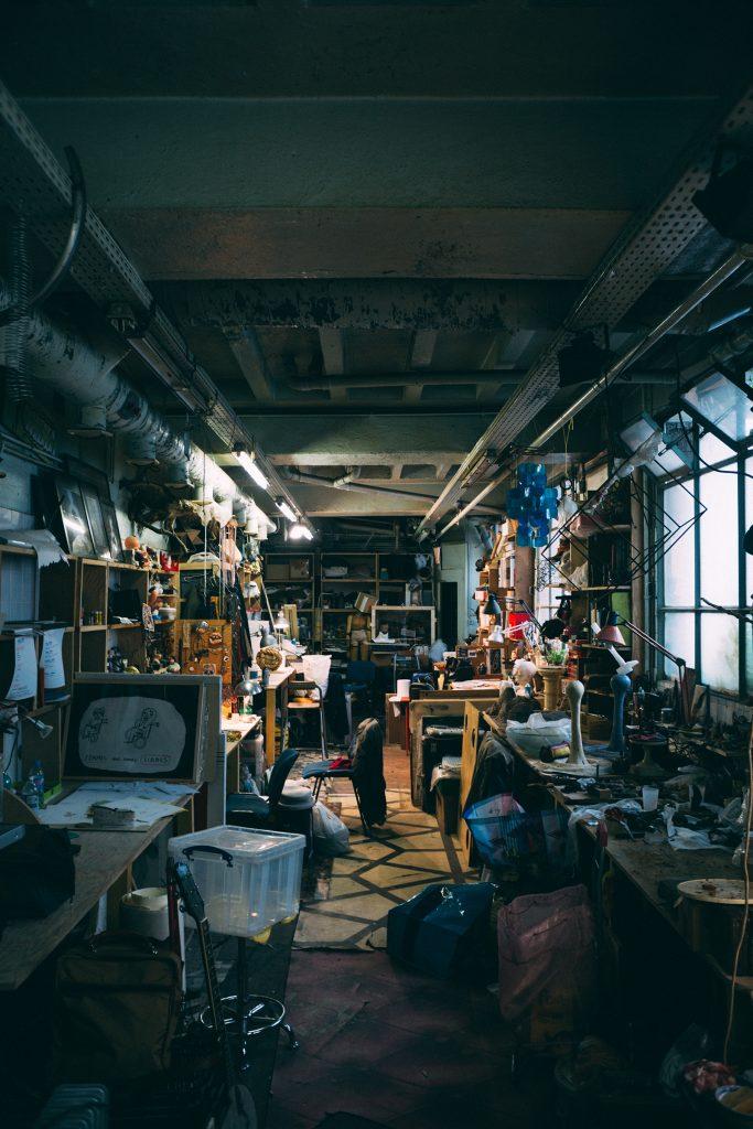 Atelier de Zoé Sauvage, Sébastien Petit, Antoine Alliot et Doriane Frereau, Shakirail ©Mathis D'Angelo