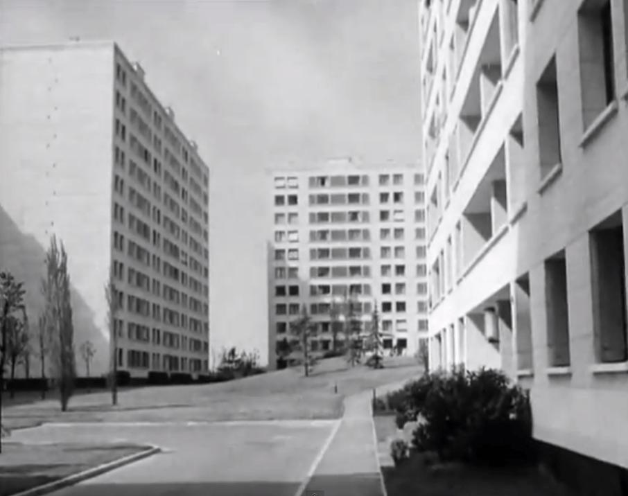 Une banlieue des années 70