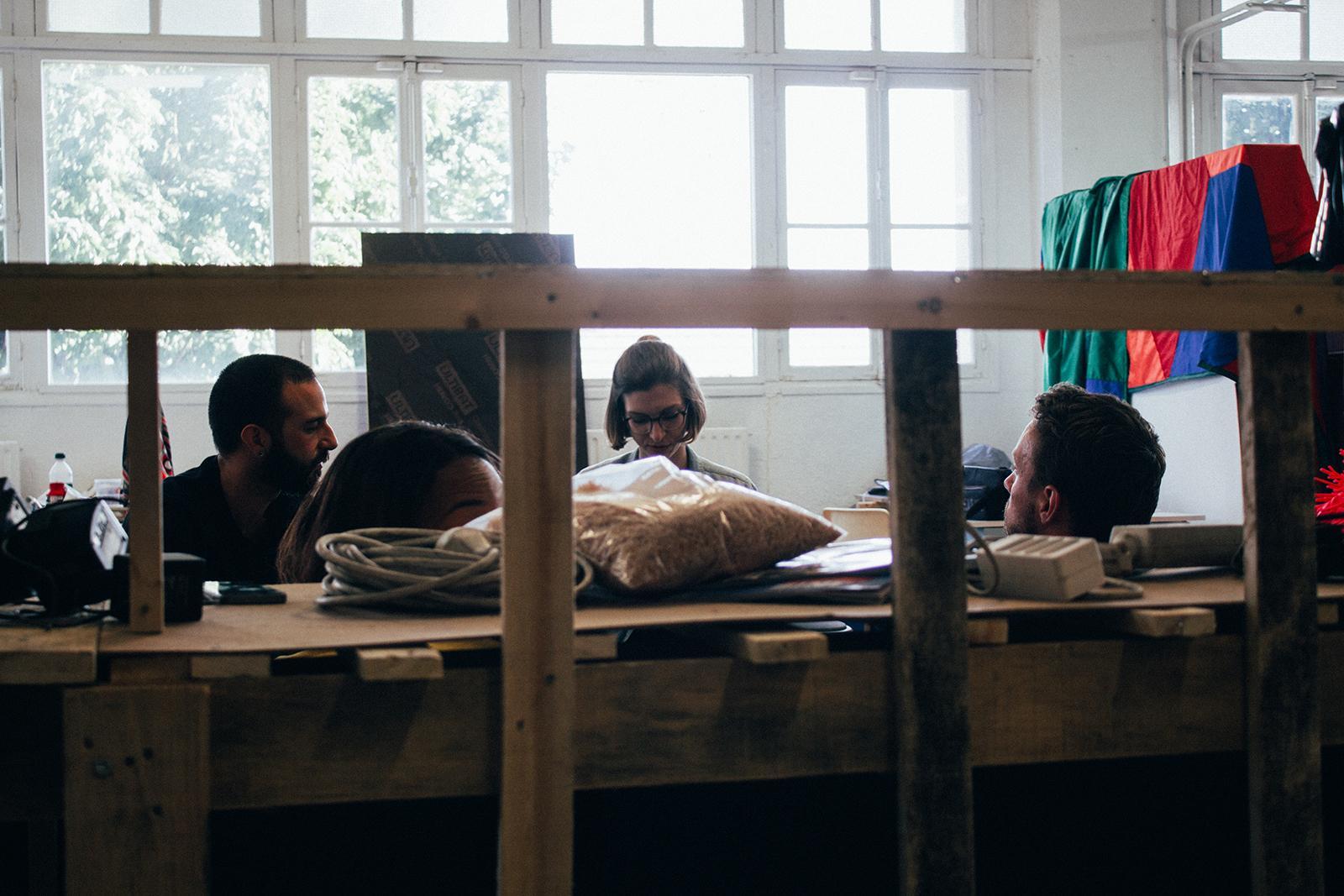 ChezKit (avec Célia Nkala, Vincent Tanguy et Cyril Zarcone) © Mathis D'Angelo