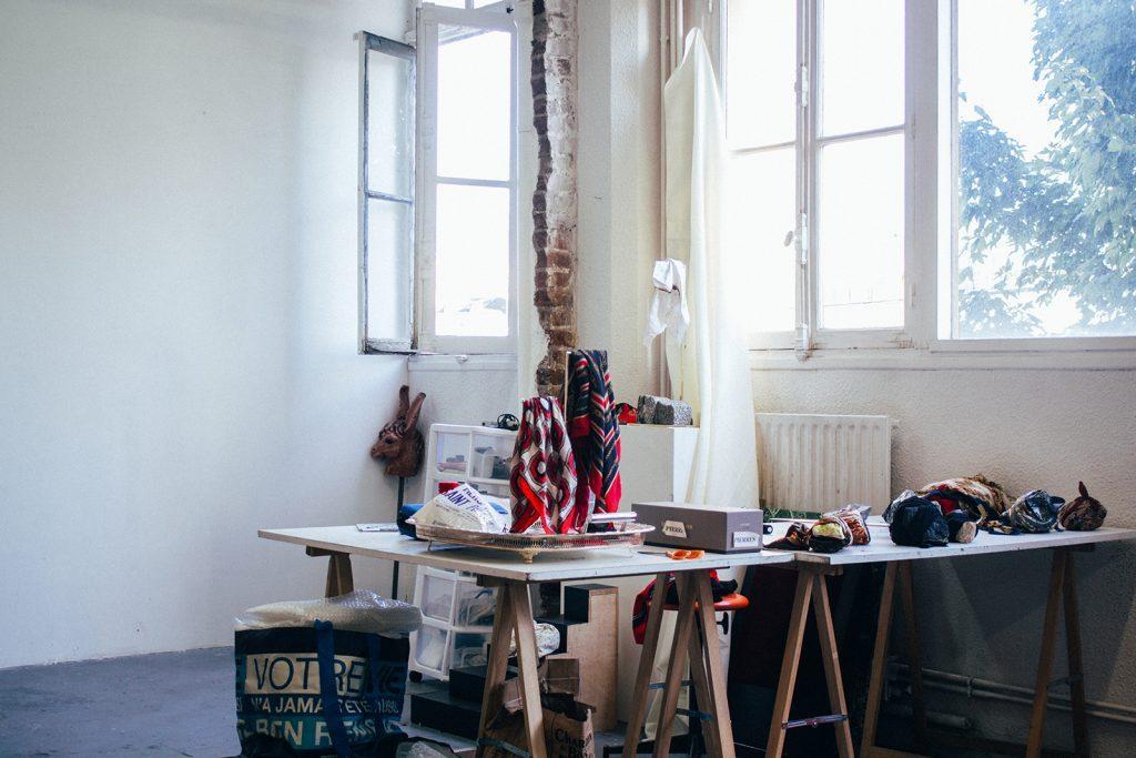 Atelier de Célia Nkala, ChezKit © Mathis D'Angelo