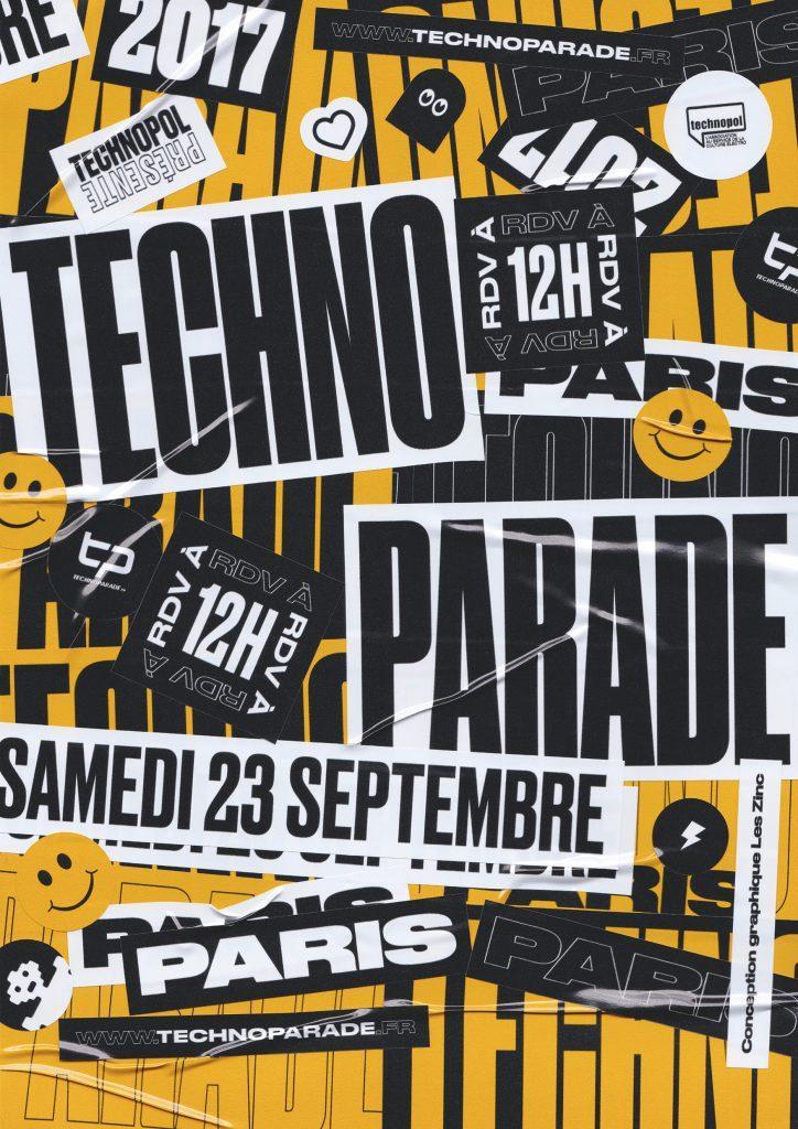 Affiche Techno Parade 2017