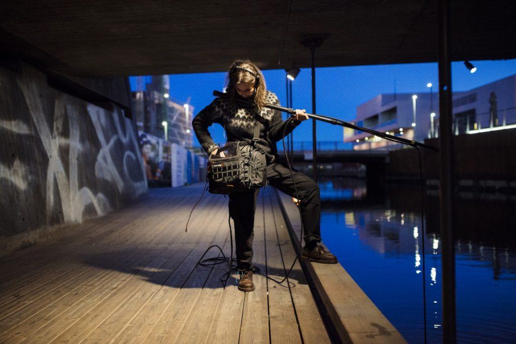 Jana Winderen. Foto: Anne Valeur