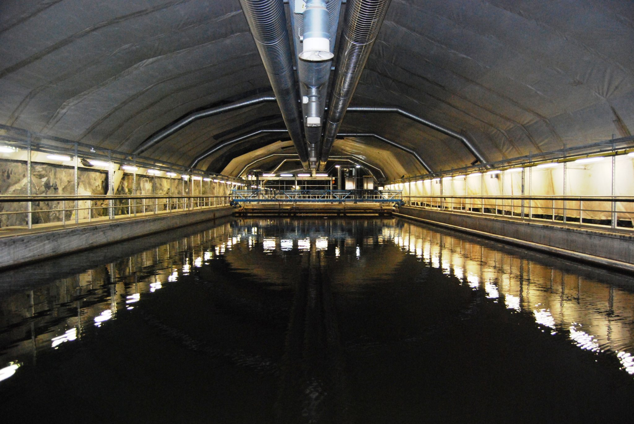 Bekkelaget renseanlegg, Oslo. Photo : Bekkelaget Vann AS