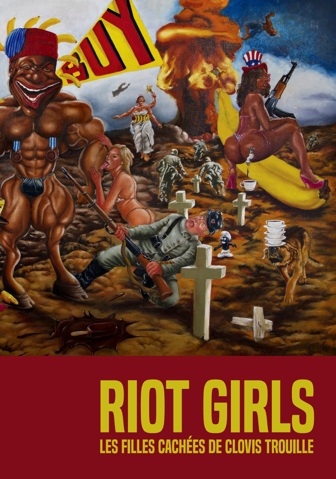 © Riot Girls - visuel Nadia Valentine