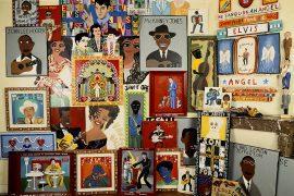 Collection de rock 'n' folk art américain, photo: isabelle temple, ©Arts Factory