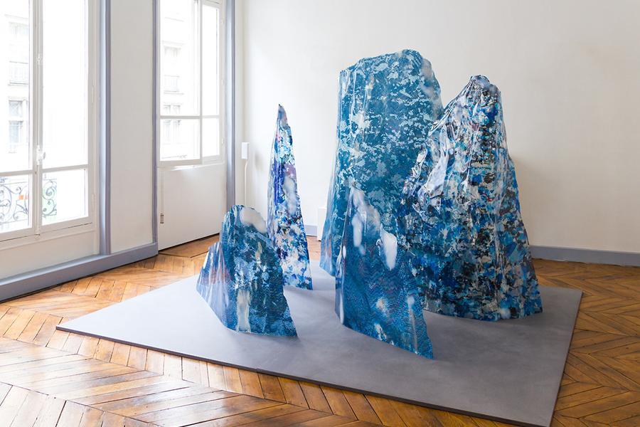 Mathieu Merlet Briand, #Iceberg, 2017