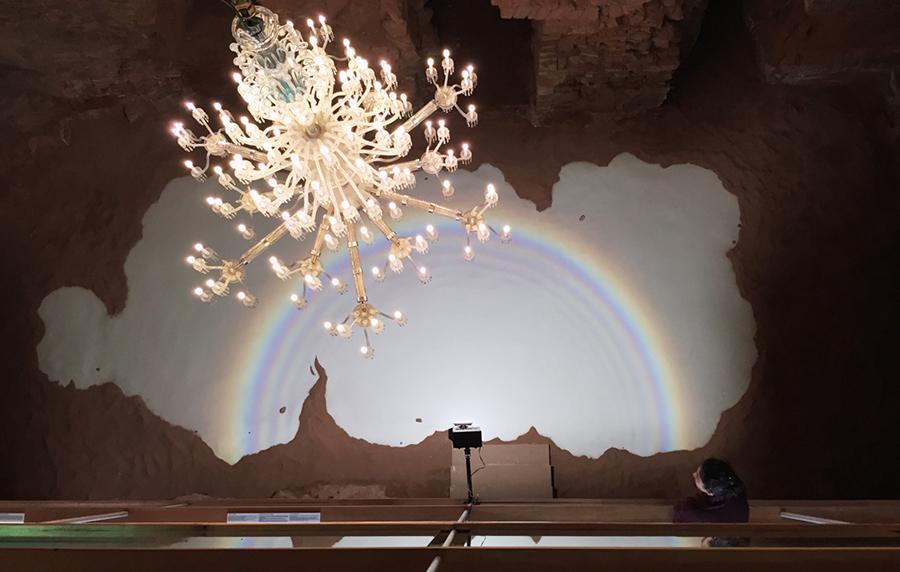 Jingfang Hao & Lingjie Wang, Over the Rainbow, 2016