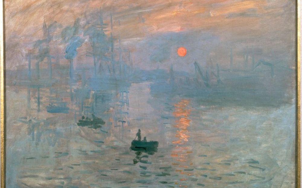 Monet- Impression, soleil levant