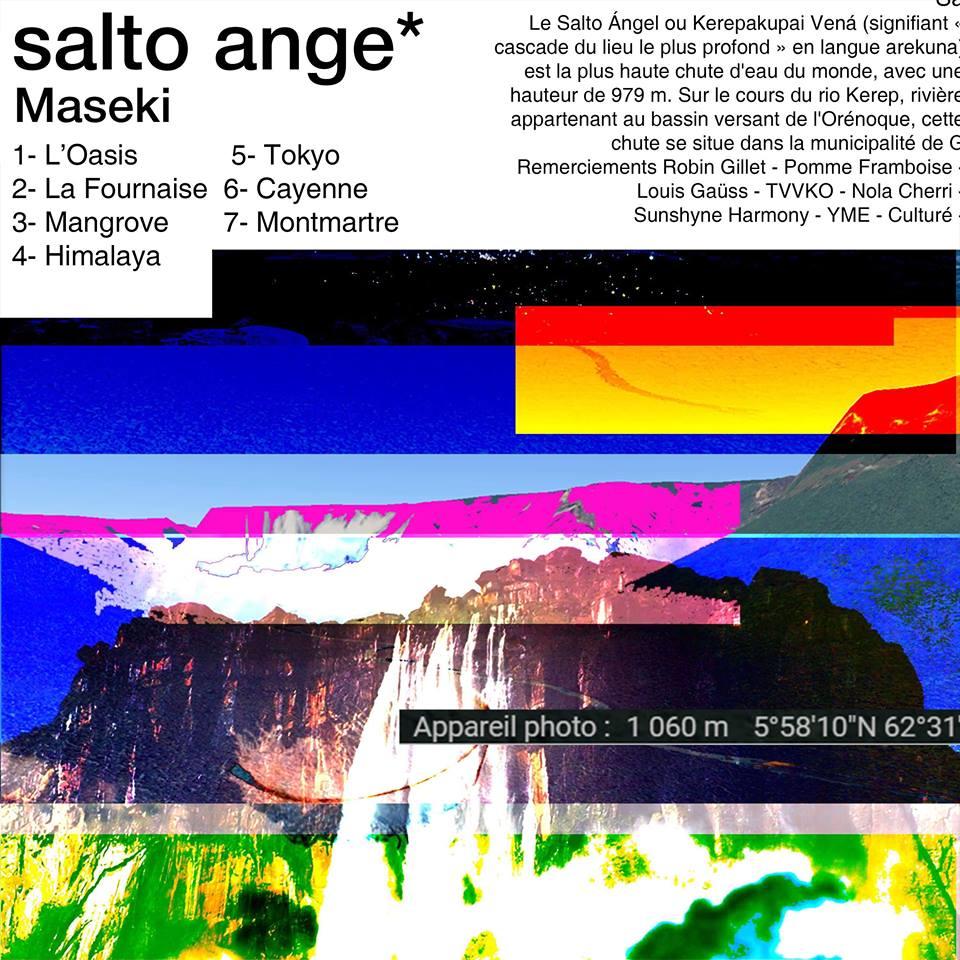 Salto Ange, le premier album de Maseki