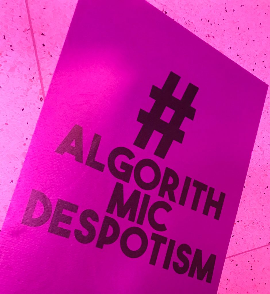 Algorithmic despotism #PurpleNoise