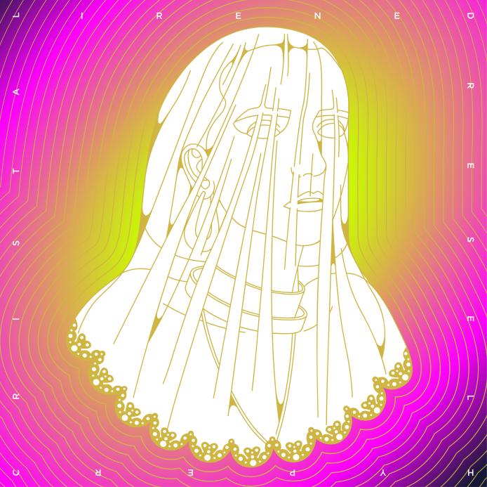 La pochette d'Hyper Cristal. Irène Drésel